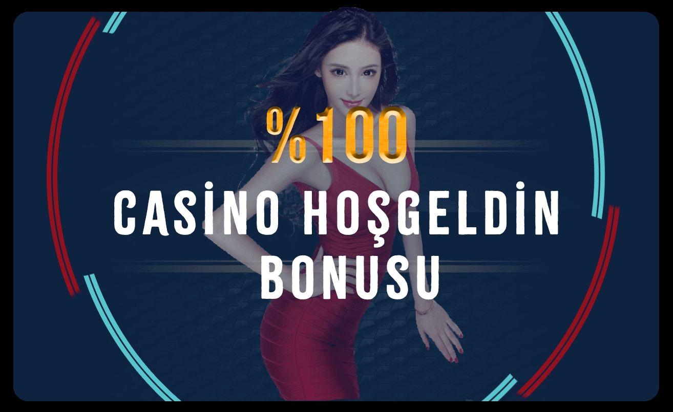 %100 Casino Hoş Geldin
